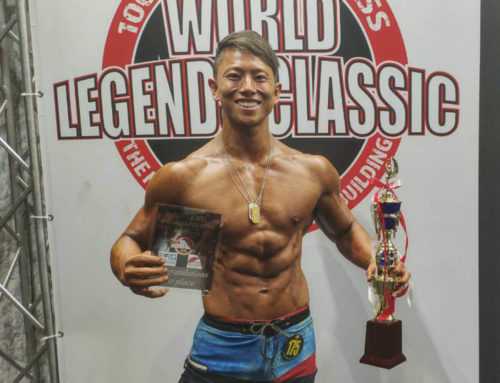 代表のHirotoがNPCJ「Men's Phisique Novice +175」にて優勝しました!